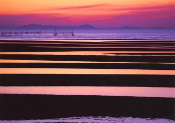 真玉海岸之夕阳