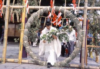 高良大社川渡祭(兜档裸祭)