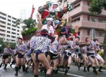 饭塚市民祭  饭塚山笠