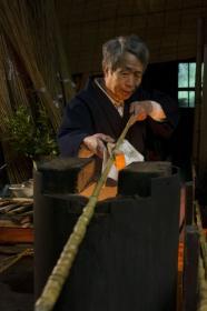 日本传统高品质竹制钓竿